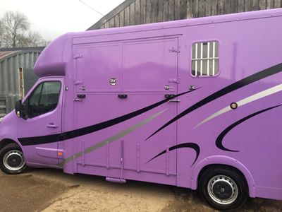 Renault Master 3.5 Horsebox For Sale